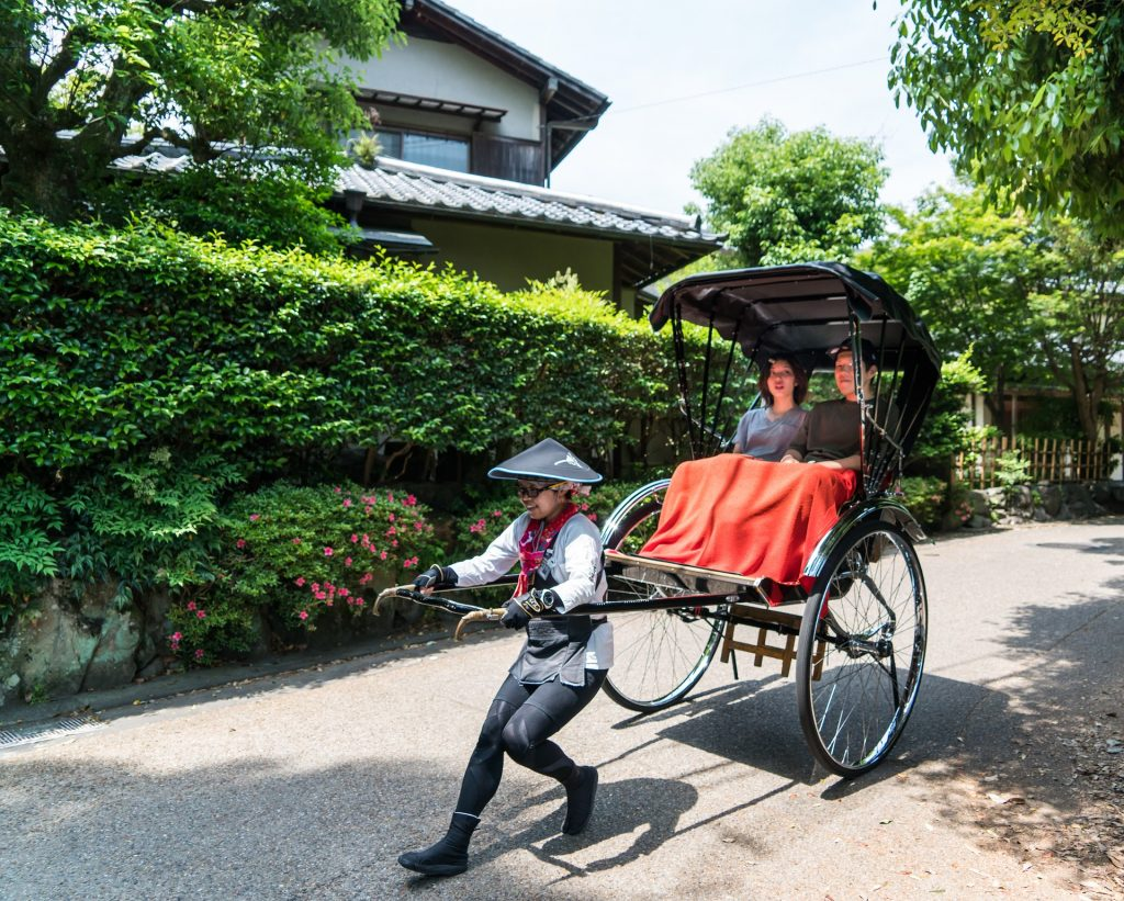 関東で人力車の乗れる場所